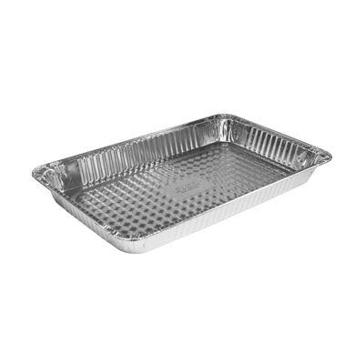 """HFA 4020-70-50 Handi-foil Full Size Aluminum Foil Steam Table Pans, 19-5/8"""" x 11-5/8"""" x 2-3/16"""", 232 oz - 50 / Case"""