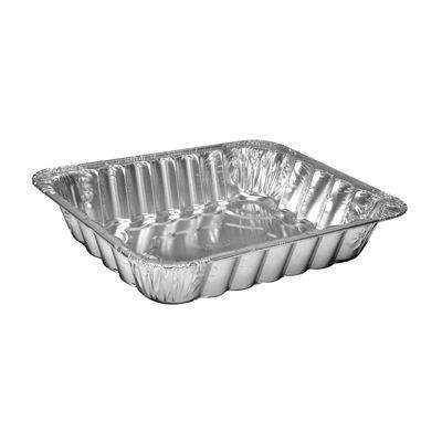 """HFA 4022-40-100 Handi-Foil Half Size Aluminum Foil Steam Table Pans, Contoured, 11-3/4"""" x 9-3/8"""" x 2-15/32"""", 120 oz - 100 / Case"""