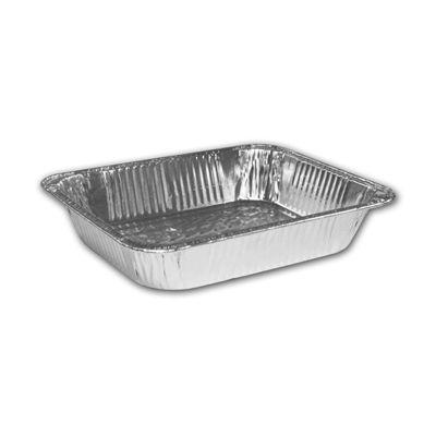 """HFA 321-45-100 Handi-Foil Half Size Aluminum Foil Steam Table Pans, 11-3/4"""" x 9-3/8"""" x 2-9/16"""", 128 oz - 100 / Case"""