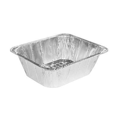 """HFA 2014-50-100 Handi-Foil Half Size Aluminum Foil Steam Table Pans, 11-3/4"""" x 9-3/8"""" x 4-3/16"""", 195 oz - 100 / Case"""