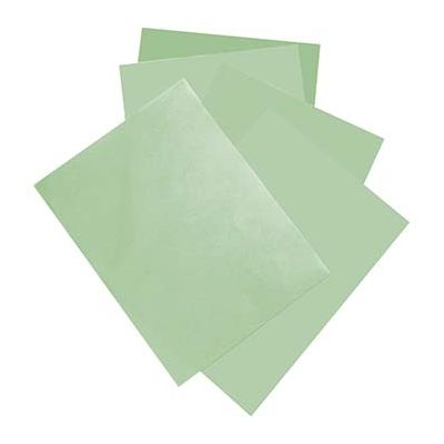 "McNairn Packaging 2378 Steak Paper Sheets, 9"" x 12"", Green - 1000 / Case"