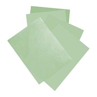 "McNairn Packaging 2378 Steak Paper Sheets, 9"" x 12"", Green - 1000 / Case"