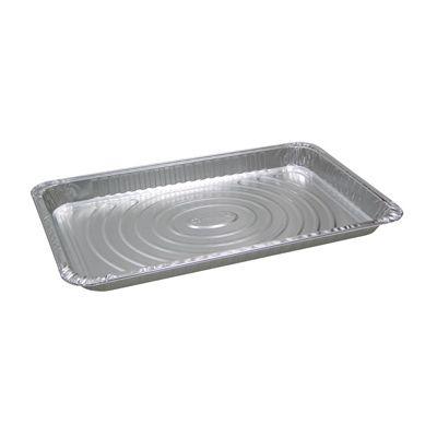 """Pactiv Y6110XH Full Size Aluminum Foil Steam Table Pans, 20-3/4"""" x 12-13/16"""" x 1-11/6"""", 174.7 oz - 40 / Case"""