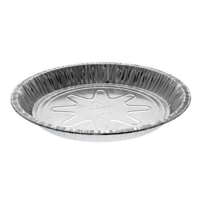 """Pactiv Y20940 9"""" Aluminum Foil Pie Pans, 15/16"""" Deep, 22 oz - 400 / Case"""