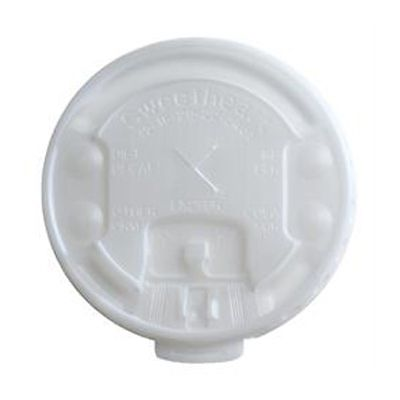 Dart Solo LX2SBR-00100 Lift n' Lock Plastic Lids for Trophy Foam Cups - 2000 / Case