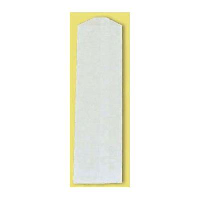 "Fischer Paper 4MG Silverware Bags, 2-3/4"" x 10"", White - 2000 / Case"