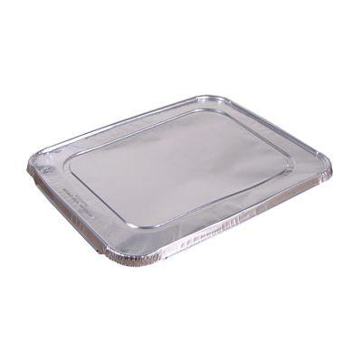 Pactiv Y101230 Foil Lids for Half Size Aluminum Foil Steam Table Pans - 100 / Case