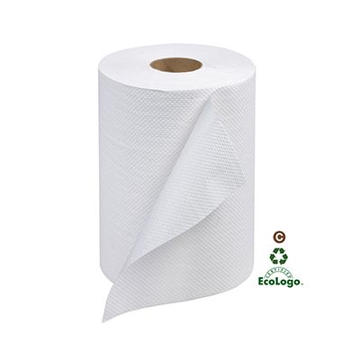 "Essity RB350A Tork Advanced Hardwound Roll Paper Hand Towels, 7.85"" x 350', White - 12 / Case"