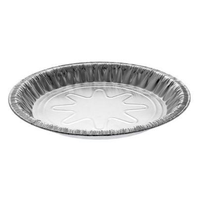 """Pactiv Y26940 9"""" Aluminum Foil Pie Pans, 29/32"""" Deep, 21.9 oz - 400 / Case"""