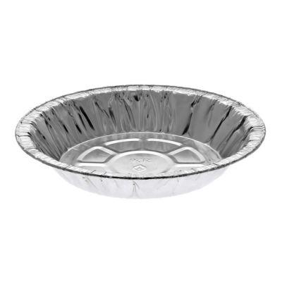 """Pactiv Y212630 6"""" Aluminum Foil Pie Pans, 15/16"""" Deep, 9 oz - 800 / Case"""
