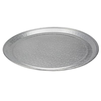 """Pactiv 451612A Caterware Deluxe 16"""" Aluminum Catering Trays - 50 / Case"""