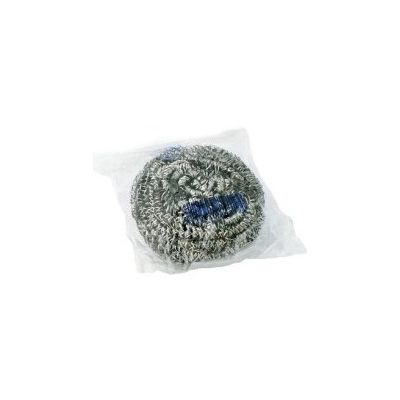 Stainless Steel Sponge / Foodservice Scouring Pads, Individually Wrapped - 72 / Case
