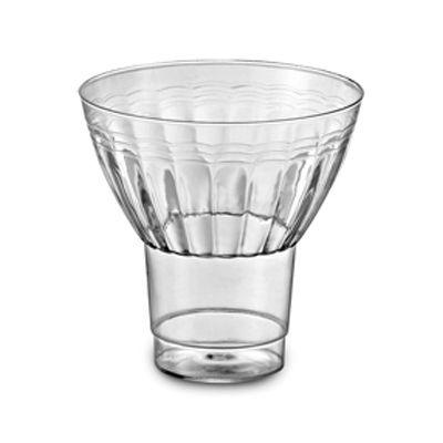 EMI Yoshi REPG9 Resposables 9 oz Plastic Parfait Cups, Clear - 240 / Case