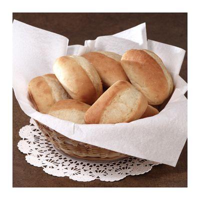 Hoffmaster 125023 Linen-Like Dinner Napkins, Flat Pack, White - 1000 / Case