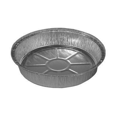 """HFA 2046-00-500 Handi-Foil 9"""" Aluminum Containers, Round, 48 oz - 500 / Case"""