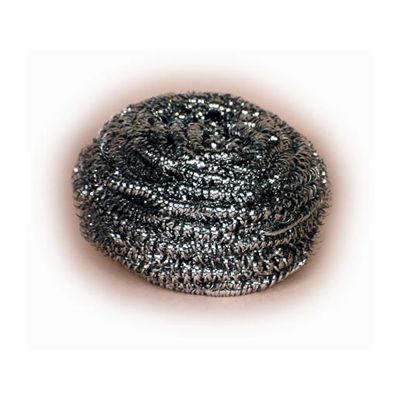 ACS 434SPB Stainless Steel Scouring Pads, Individually Wrapped - 72 / Case