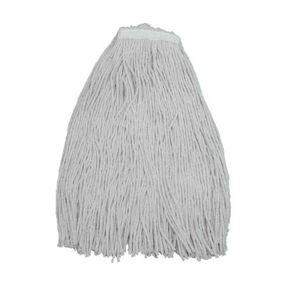 Zephyr 10024 Shineup 4 Ply Cotton Mop Heads, 24 oz - 12 / Case