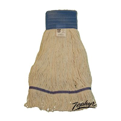 Zephyr 28202 Tuf/Blend Loop Mop Heads, Medium - 12 / Case