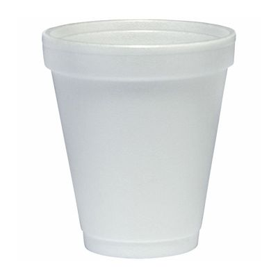 Dart 6J6 6 oz Foam Hot / Cold Cups, White - 1000 / Case