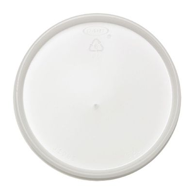 Dart 32JL Vented Plastic Lids for Foam Cups / Containers Ending in 32, Translucent - 500 / Case