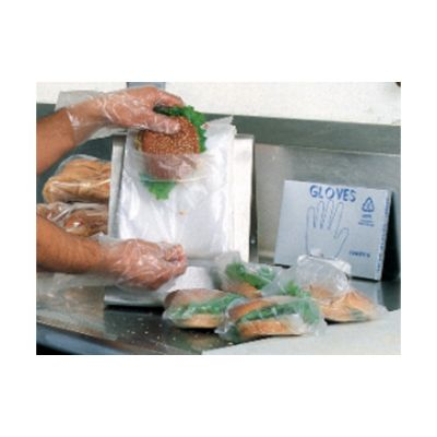 "Elkay Plastics DP10585 Flip Top Deli Bags, Plastic, Saddle Pack, 10"" x 8"", Clear - 2000 / Case"