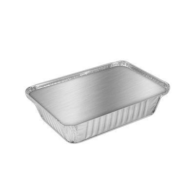 HFA 2062-30-250W Handi-foil 2.25 lb Aluminum Foil Containers with Board Lids - 250 / Case