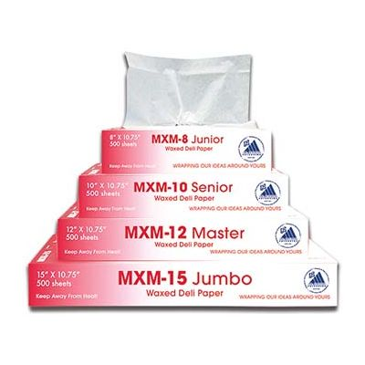 """McNairn Packaging 105302 Deli Paper Wrap Up+ Sheet, 8"""" x 10.75"""" - 6000 Sheets / Case"""