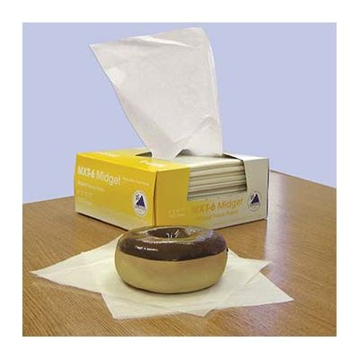 "McNairn Packaging 103301 Bakery Tissue MXT-6 Sheets, 6"" x 10.75"" - 10000 / Case"