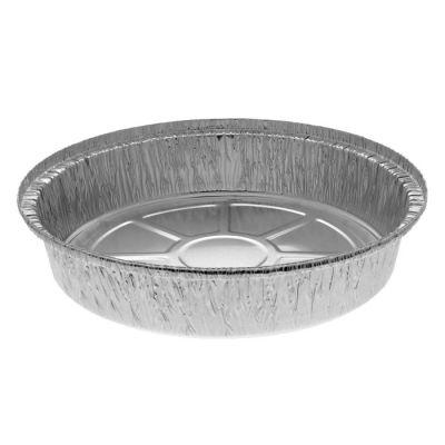 """Pactiv Y50930 9"""" Aluminum Foil Round Containers, 3 lb, 46 oz - 300 / Case"""