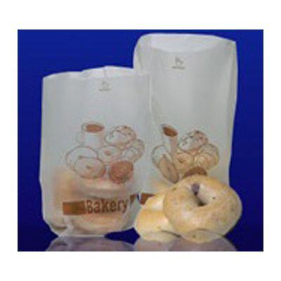 """Fantapak HD-6412-BKRY6 6 lb Bakery Bags, 6"""" x 4"""" x 12"""", Bagel / Pastry Design - 1000 / Case"""