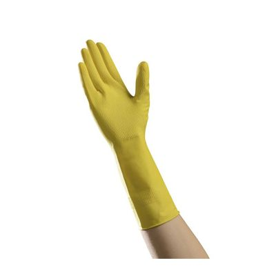 Vintage LMD6500 Ambitex Dishwashing Gloves, Medium, Yellow - 144 / Case