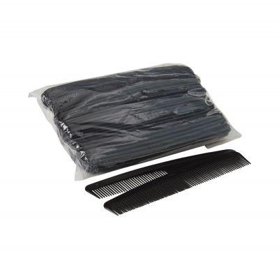 """McKesson 16-C7 Plastic Comb, 7"""", Black - 1440 / Case"""
