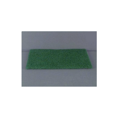 "ACS S096 Scouring Pads, 6"" x 9"", Green - 60 / Case"