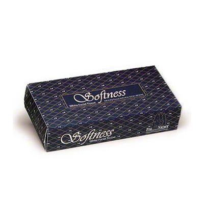 Advantage A2360/30100 Facial Tissue, 100 Tissues / Flat Box, White - 30 / Case
