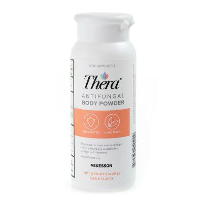 McKesson 53-AFP3 Thera Antifungal Body Powder, 3 oz Shaker Bottle - 12 / Case