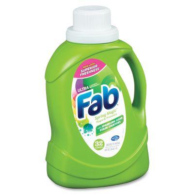 AJAX PB37060 Ultra FAB Laundry Detergent Liquid, 50 oz Bottle - 6 / Case
