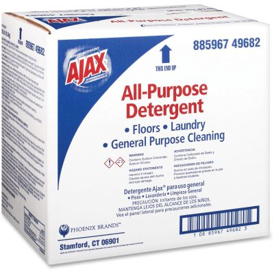 AJAX PB49682 Commercial All-Purpose Laundry Detergent / Floor Cleaner, Bulk 36 lb Box - 1 / Case