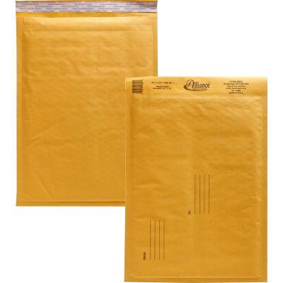 "Alliance 10806 Bubble Mailer Cushioned Envelopes, No. 4, 9-1/2"" x 14-1/2"", Kraft - 25 / Case"