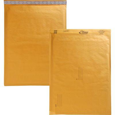 "Alliance 10809 Bubble Mailer Cushioned Envelopes, No. 7, 14-1/4"" x 20"", Kraft - 25 / Case"