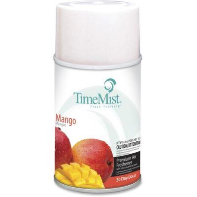 Zep 1042810 TimeMist Metered Aerosol Air Freshener Refill, Mango Scent, 6.6 oz Can - 12 / Case