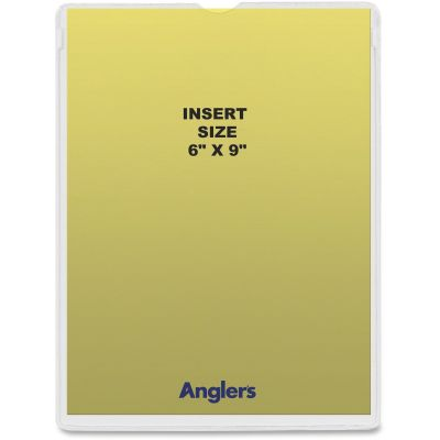 """Anglers 145650 Heavy Poly Envelopes, 6"""" x 9"""", Clear - 50 / Case"""