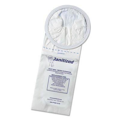 APC Filtration JANPTQV2 Vacuum Filter Bags Designed to Fit Proteam 6 Qt. Quartervac - 100 / Case
