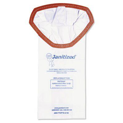 APC Filtration JANPTSCP102 Vacuum Filter Bags Designed to Fit Proteam Super Coach Pro 10 - 100 / Case