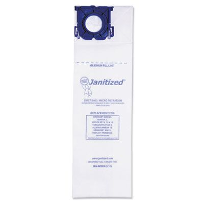 APC Filtration JANWISEN3 Vacuum Filter Bags Designed to Fit Windsor Sensor S / S2 / XP / Versamatic Plus - 100 / Case