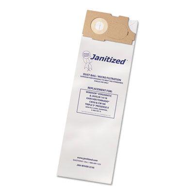 APC Filtration JANWIVER3 Vacuum Filter Bags Designed to Fit Windsor Versamatic - 100 / Case