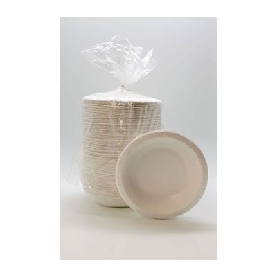 Aspen 20925 20 oz Ultra Coated Paper Bowls, White - 250 / Case