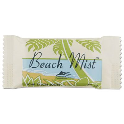 Beach Mist NO12 Face and Body Soap, #1/2 Bar, Individually Wrapped - 1000 / Case