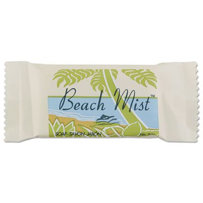 Beach Mist NO34A Face and Body Soap, #3/4 Bar, Individually Wrapped - 1000 / Case