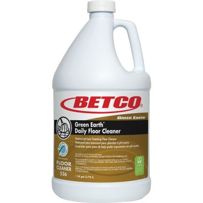 Betco 5360400 Green Earth Daily Floor Floor Cleaner, 1 Gallon Bottle - 1 / Case
