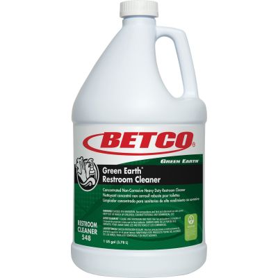 Betco 5480400 Green Earth Restroom Cleaner, 1 Gallon Bottle - 1 / Case